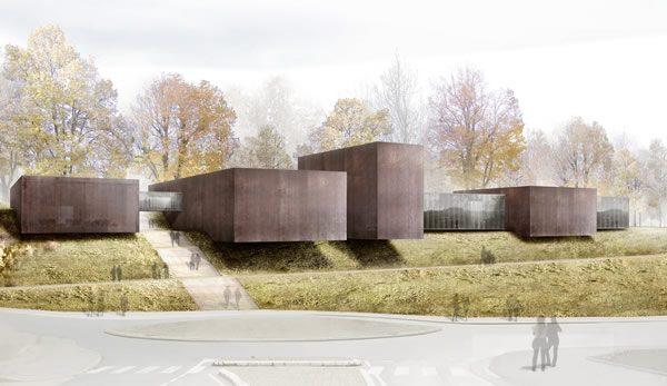 Projet du musée Soulages - RCR arquitectes