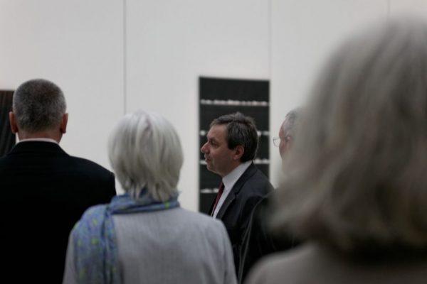 Benoît Decron lors du Vernissage