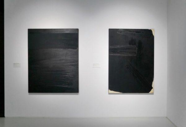 Peinture 162 x 127 cm, 14 avril 1979 & peinture 162 x 114 cm, 27 février 1979