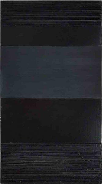 Peinture 324 x 181 cm, 12 février 2005