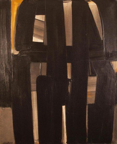 Peinture, 92 x 73 cm, 3 avril 1974