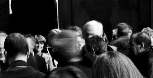 Le jour de l'inauguration du Musée Soulages à Rodez